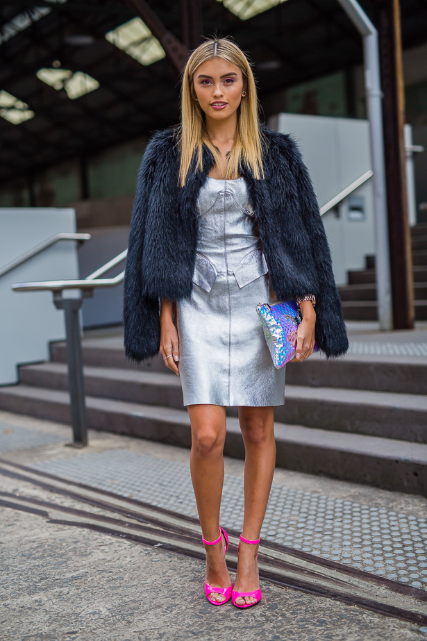Street Style From Australian Fashion Week Day Two Image 7 Elle