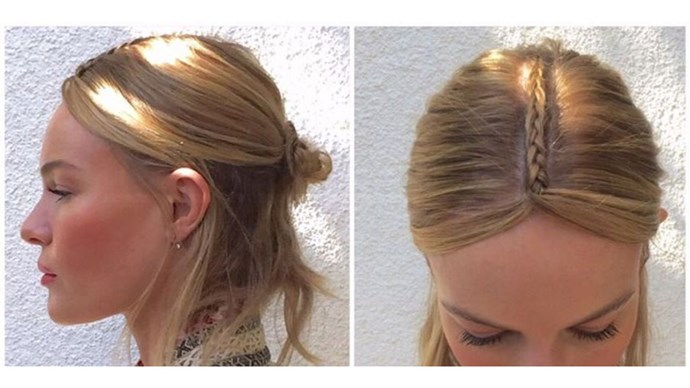 Kate Bosworth Coachella hairstyle