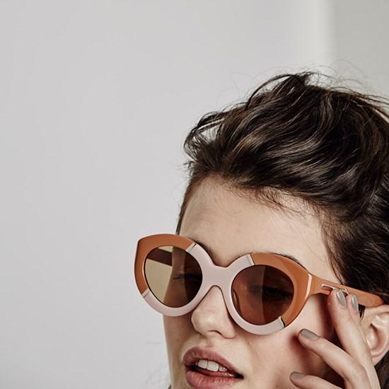 Sunglasses, $329, Karen Walker Eyewear, karenwalker.com
