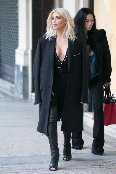 <strong>MARCH 10, 2015</strong> <BR> In Givenchy while out in Paris.