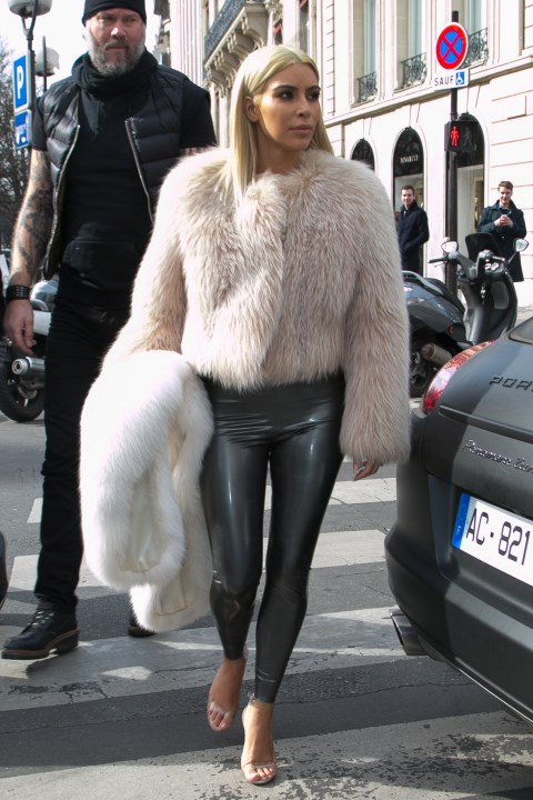 <strong>MARCH 7, 2015</strong> <BR> Out in Paris.