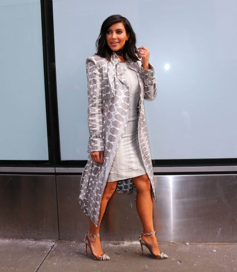<strong>FEBRUARY 10, 2015</strong> <BR> In a Lanvin dress and coat with Louboutin heels while out in New York.