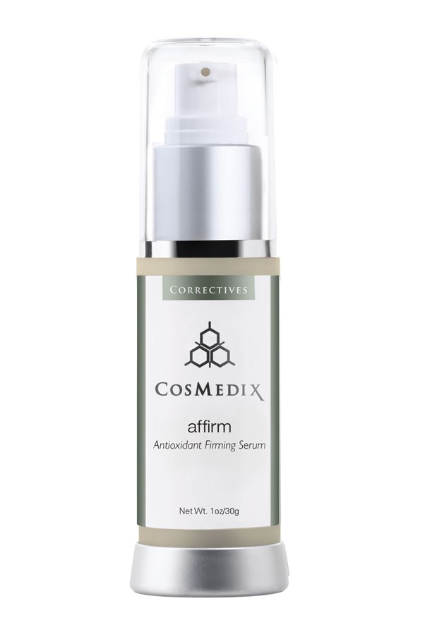 <p><strong>A = Antioxidants</strong><p> <p>Antioxidants work to fight against free radicals oxidising on the skin and causing visible damage. Applied topically, they can protect your complexion from the inside out by guarding your cells from the sun's harmful rays and enhancing the effectiveness of sunscreen. </p> <p><em>Affirm Anti-Oxidant Firming Serum, $99, CosMedix, 1800 648 851</em></p>