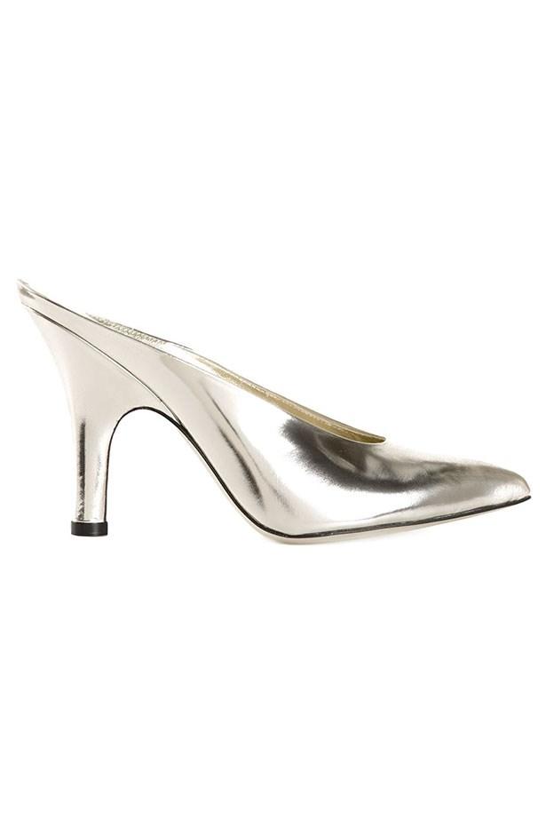 "Mules, $958, Amelie Pichard, <a href=""http://www.farfetch.com/au/shopping/women/amelie-pichard-pointed-toe-mules-item-11016374.aspx?storeid=9467&ffref=lp_31_6_"">farfetch.com</a>"