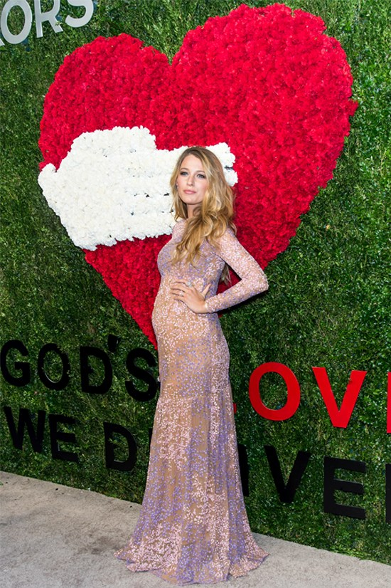 "Blake Lively wearing Michael Kors at ""God's Love We Deliver Golden Heart Awards"", October 2014"