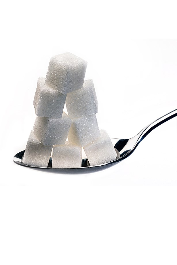 "<p><strong>Sugar</strong></p> <p>You've ditched your spoonful of the white stuff in your Earl Grey and already avoid the obvious offenders (cakes, cookies, those 3pm soft drinks), but passing on the lollies doesn't mean you're in the clear – even savoury foods are laced with sugar. Condiments are especially guilty: tomato sauce is 25 per cent sugar and BBQ sauce 50 per cent. Fruit isn't innocent either. A cup of grapes contains 23g of sugar, mango 24g and pineapple 25g (to put that into perspective, a chocolate Paddle Pop has 10.6g). But don't let that put you totally off it. ""Fruits contain beautiful sources of vitamins, minerals and antioxidants so it's great to have just one or two pieces per day,"" recommends Alwill. </p> <p>Bottom line: The research slamming the negative effects of sugar is staggering – not only does it pile in the kilos, it's also linked to heart disease and dementia. Cut refined sugars and limit naturally occurring fructose. </p>"