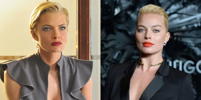<strong>JAIME PRESSLY AND MARGOT ROBBIE</strong>