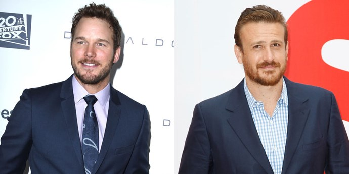 <strong>CHRIS PRATT AND JASON SEGEL</strong>