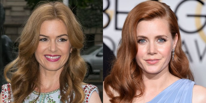 <strong>ISLA FISHER AND AMY ADAMS</strong>