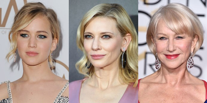 <strong>JENNIFER LAWRENCE, CATE BLANCHETT, AND HELEN MIRREN</strong>
