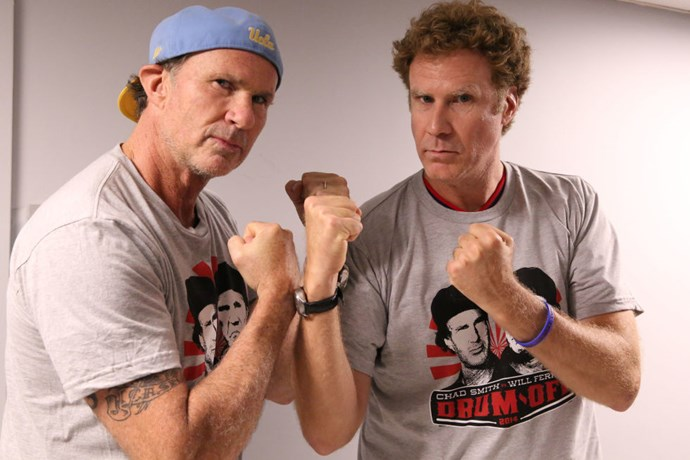 <strong>CHAD SMITH AND WILL FERRELL</strong>