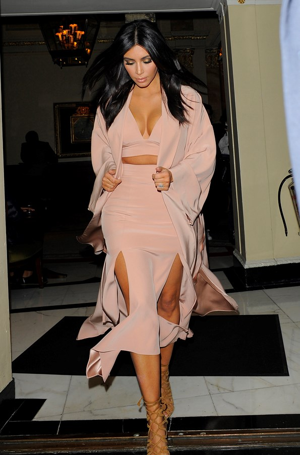 <strong>HUSHED PINK</strong> <br><em>November 2014</em> <br>Kim Kardashian