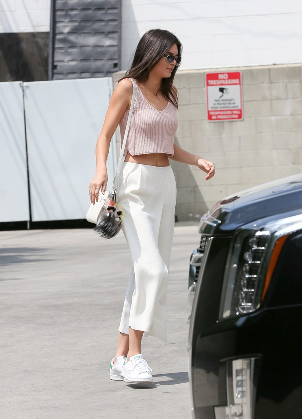 <strong>HUSHED PINK</strong> <br><em>April 2015</em> <br>Kendall Jenner