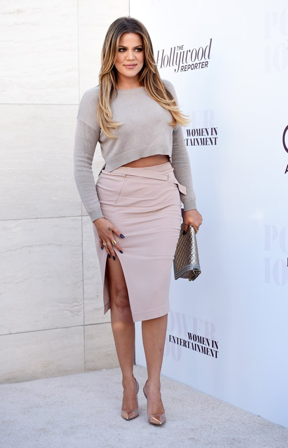 <strong>DIFFUSED GREY</strong> <br><em>December 2014</em> <br>Khloe Kardashian