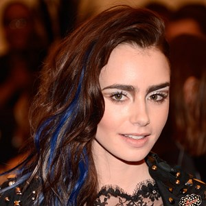 Lily Collins at the 2013 Met Gala