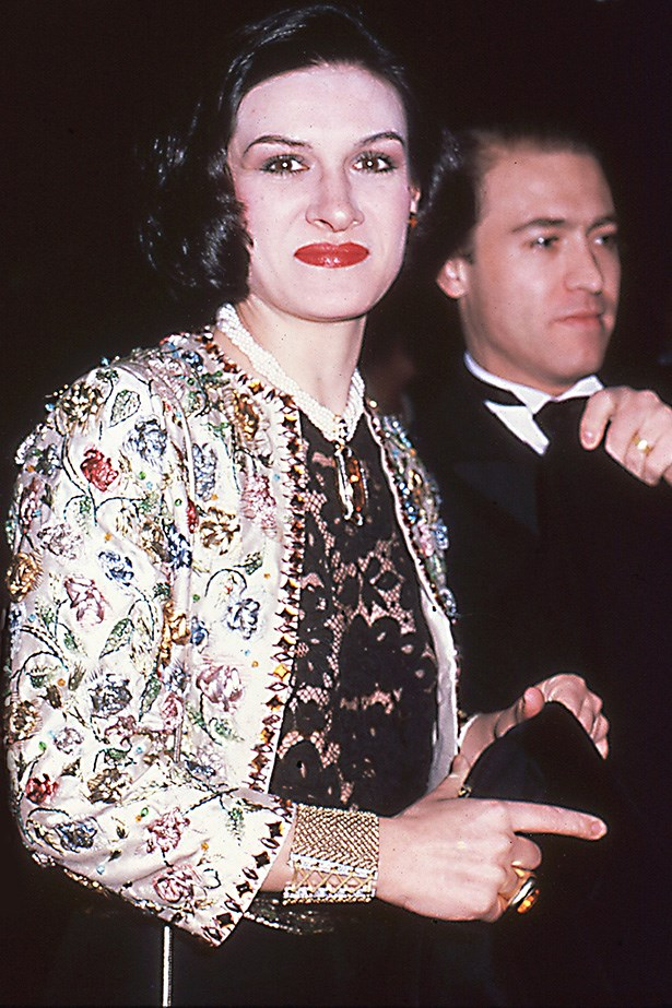 <strong>1981</strong <em><br>'The 18th Century Woman'</em> <br>French designer Paloma Picasso