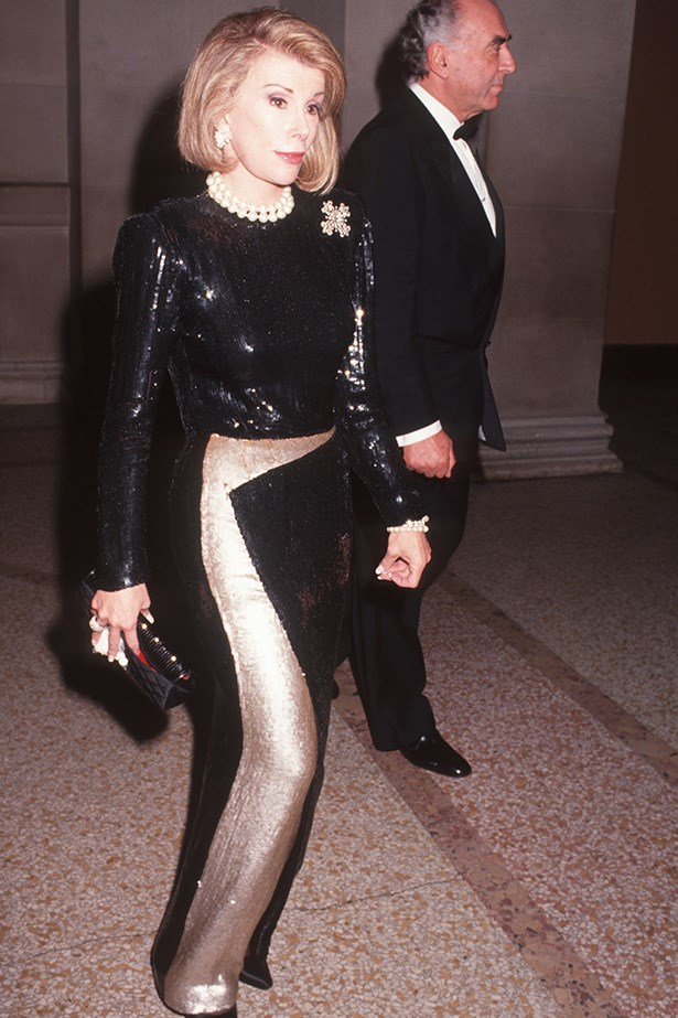 <strong>1991</strong <em><br>No theme</em> <br>Joan Rivers