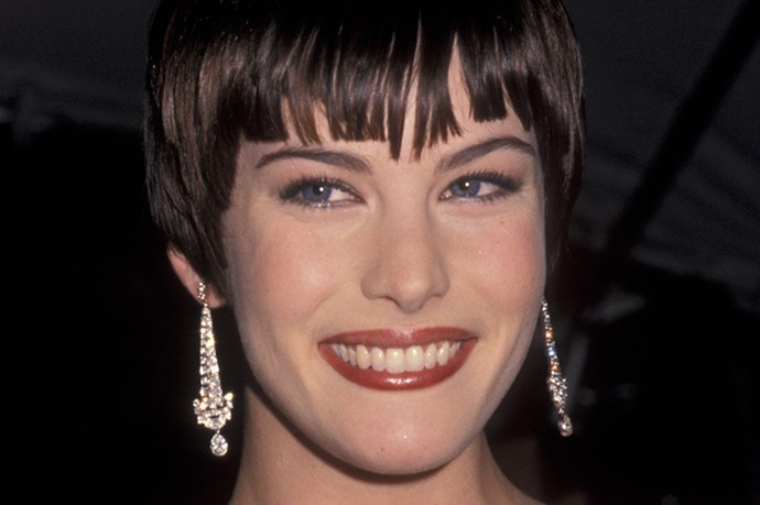 <strong>1998</strong <em><br>'Cubism and Fashion'</em> <br>Liv Tyler
