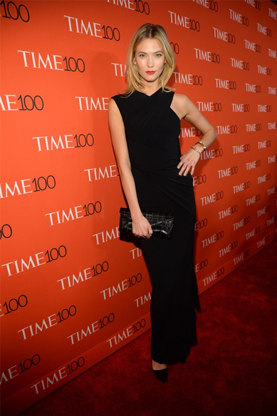 Karlie Kloss at the 2015 Time 100 Gala, April