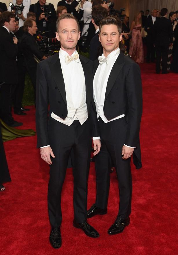 Neil Patrick Harris and David Burtka