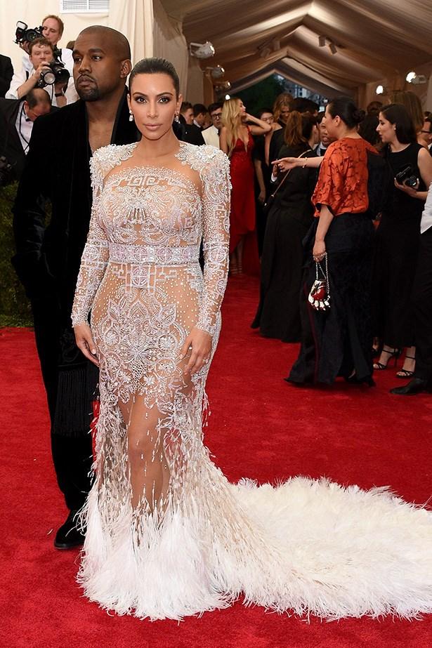 Kim Kardashian in Roberto Cavalli