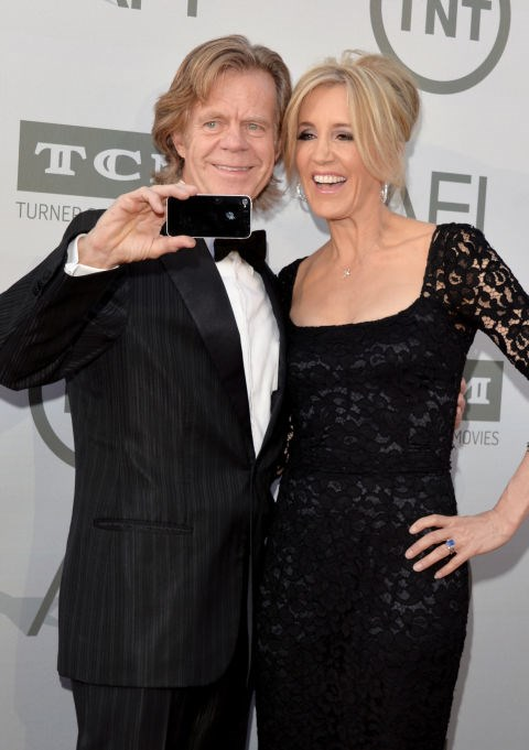 <strong>WILLIAM H. MACY AND FELICITY HUFFMAN</strong>