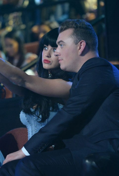 <strong>KATY PERRY AND SAM SMITH</strong>