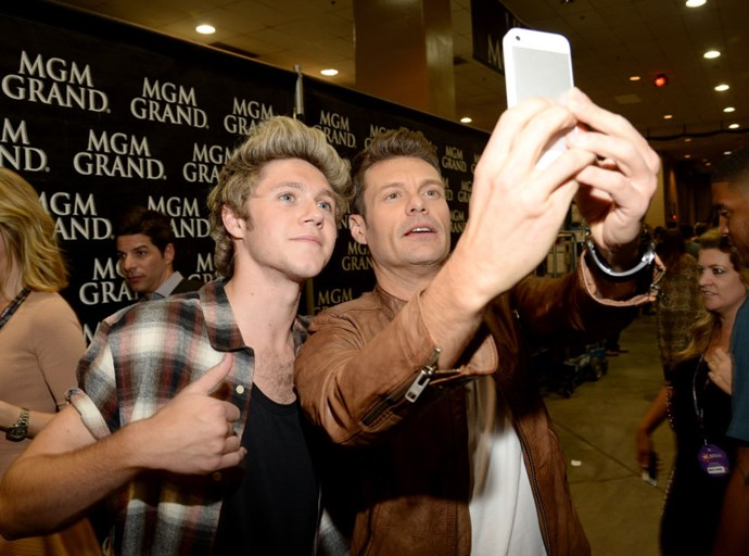<strong>NIALL HORAN AND RYAN SEACREST</strong>