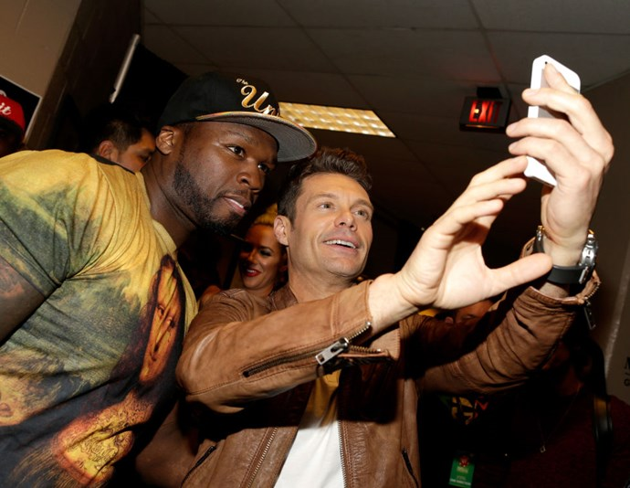 <strong>50 CENT AND RYAN SEACREST</strong>