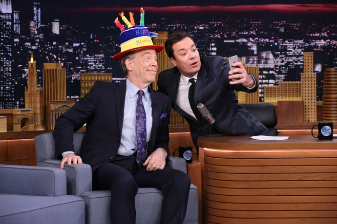 <strong>J.K. SIMMONS AND JIMMY FALLON</strong>