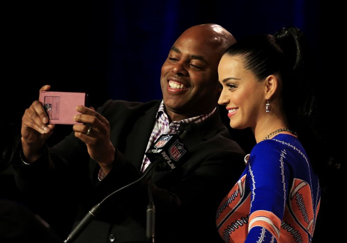 <strong>KEVIN FRAZIER AND KATY PERRY</strong>