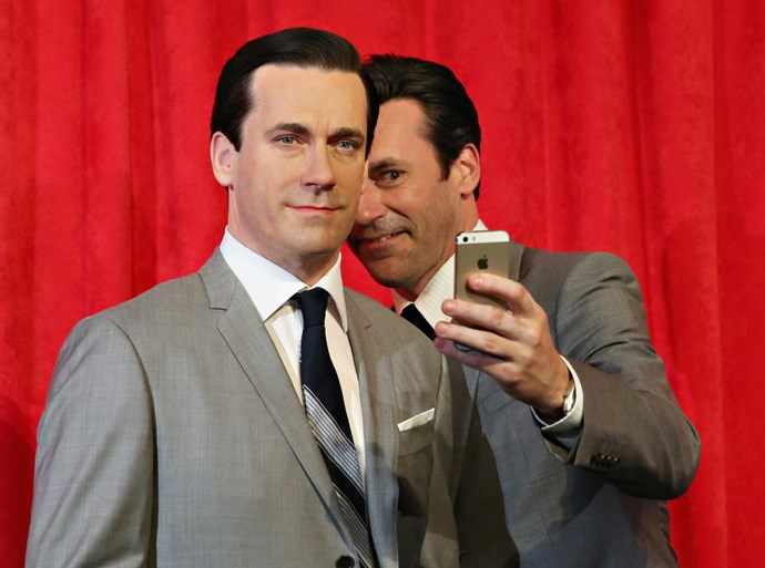 <strong>WAX JON HAMM AND JON HAMM</strong>