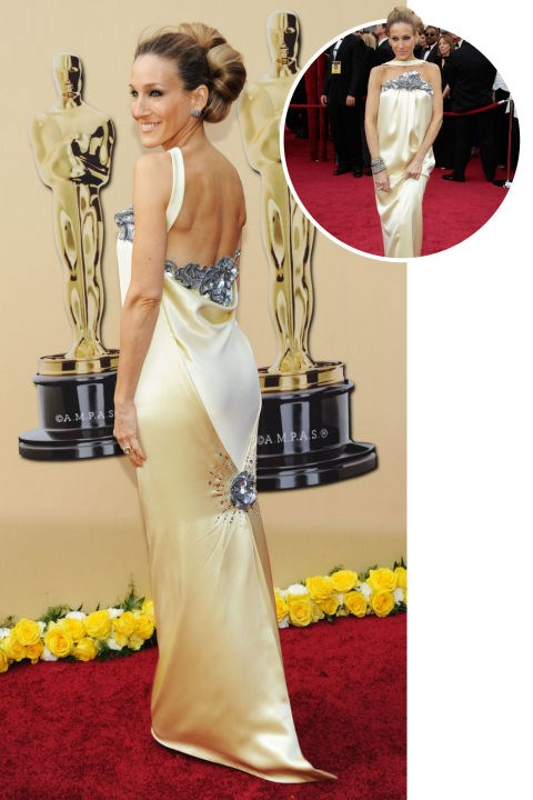 <strong> Sarah Jessica Parker</strong><br> In Chanel Couture at the 2010 Academy Awards
