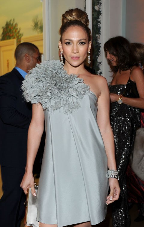 <strong>JENNIFER LOPEZ</strong> <BR> Wearing Chanel in 2010.