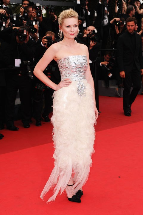 <strong>KIRSTEN DUNST</strong> <BR> Wearing Chanel in 2011.