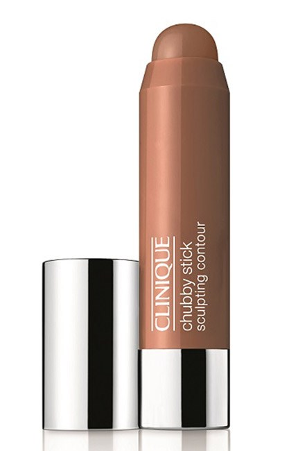 """<strong>Mantra: </strong>Contour, Contour, Contour<br><br> As iconic-ally 70s as flares and Fleetwood Mac, sculptural cheekbones were a major hit of the times. For a modern take, create angles by working creamy blush under the hollows of your cheeks and touching highlighter over cheekbones, brow bones and down the length of the nose for a 3D affect. <br><br> <strong>Muse:</strong> Lauren Hutton (1974)<br><br> <strong>Makeup: </strong>Clinique Chubby Stick Sculpting Contour, $42; <a href=""""http://www.clinique.com.au/"""">www.clinique.com.au</a>"""