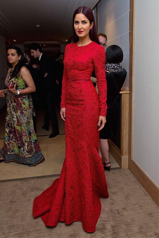 <strong>Katrina Kaif</strong> wearing Elie Saab