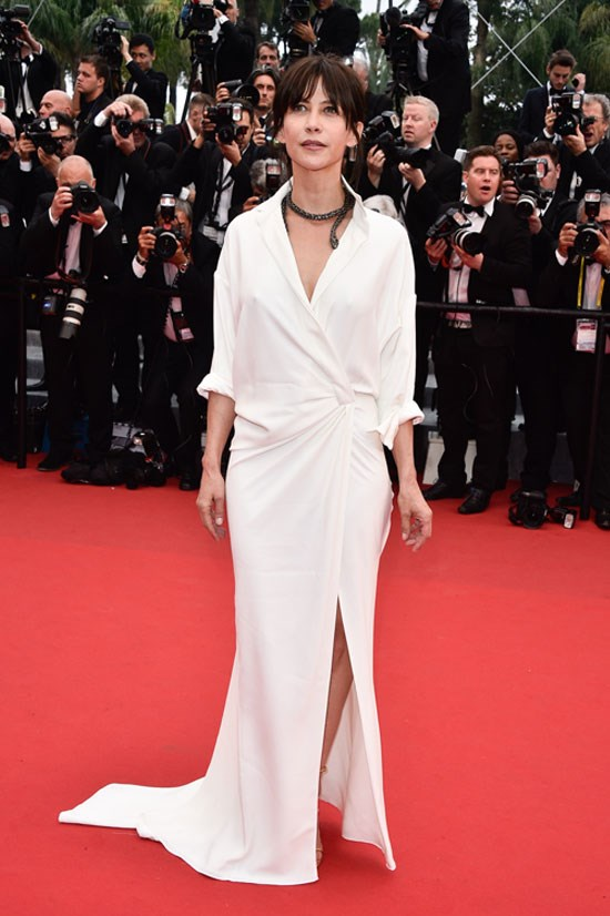 <strong>Sophie Marceau</strong> wearing Alexandre Vauthier