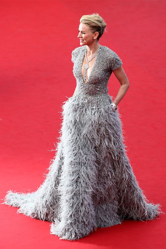 <strong>Naomi Watts</strong> wearing Elie Saab Couture