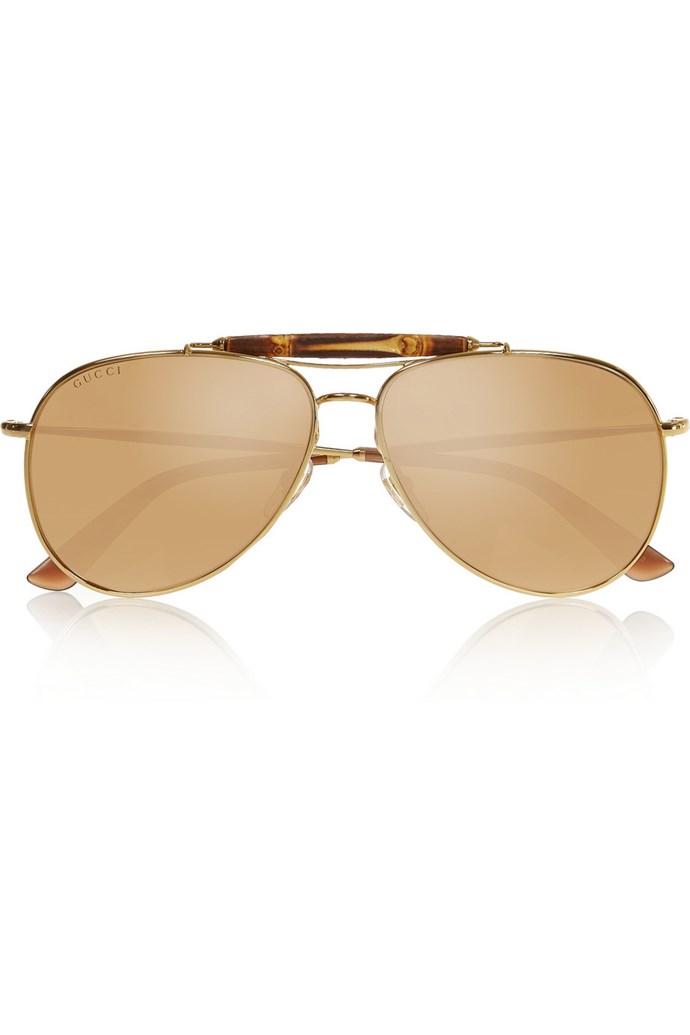 "Outfit one: <br/> <a href=""http://www.net-a-porter.com/au/en/product/524196"">Sunglasses</a>, Gucci, $1,648.65, net-a-porter.com"