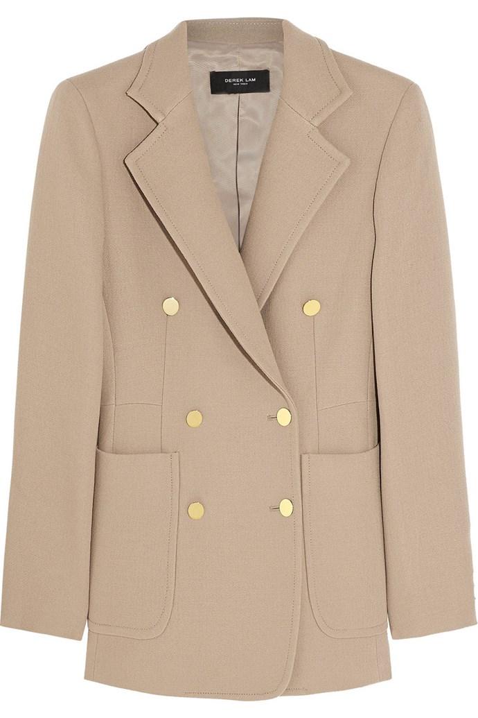 "Outfit one: <br/> <a href=""http://www.net-a-porter.com/product/505777"">Blazer</a>, $2,270.85, Derek Lam, net-a-porter.com"