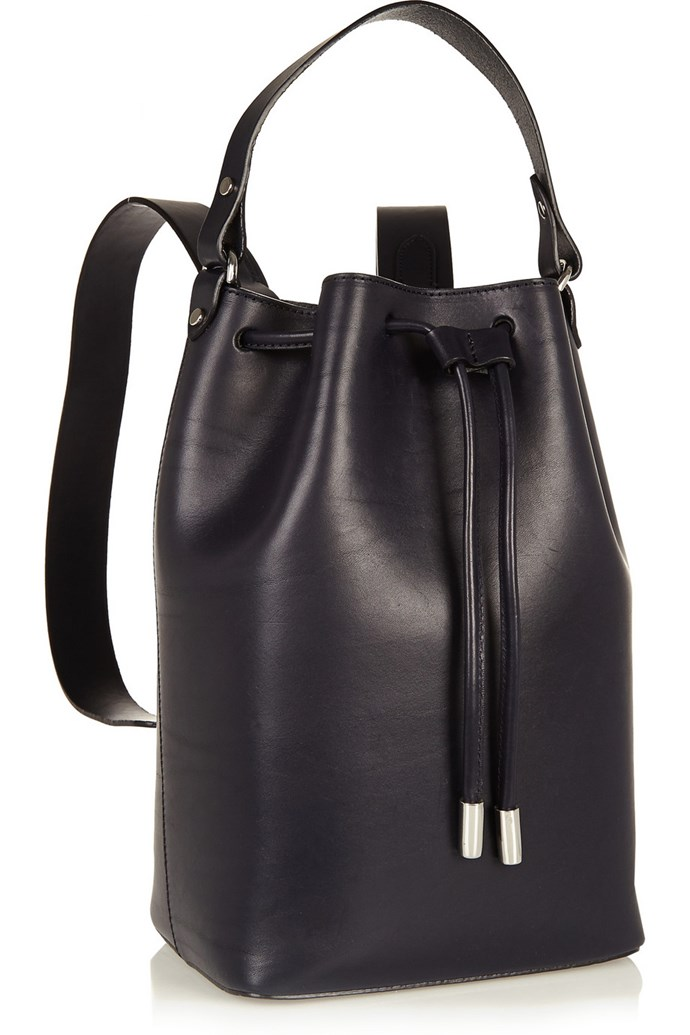 """Outfit two: <br/> <a href=""""http://www.theoutnet.com/en-AU/product/Iris-and-Ink/Camden-leather-backpack/569255"""">Backpack</a>, $361, Iris and Ink, theoutnet.com"""