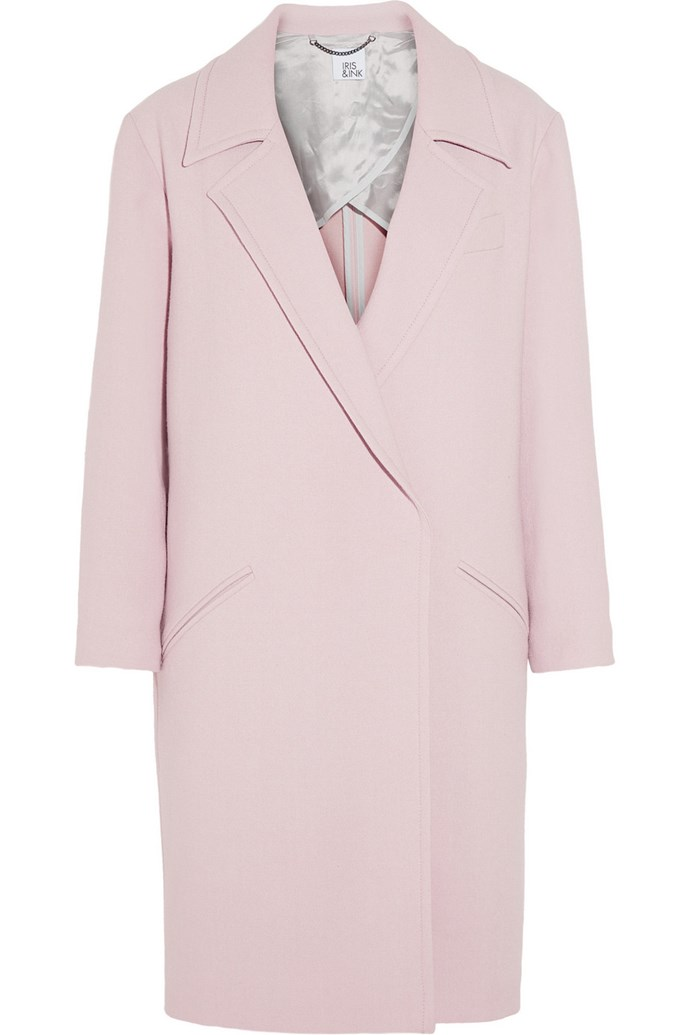 """Outfit three: <br/> <a href=""""http://www.countryroad.com.au/shop/woman/clothing/jackets-and-coats/60178207/Waterfall-Longline-Coat.html  """">Coat</a>, $399, Country Road, countryroad.com.au"""