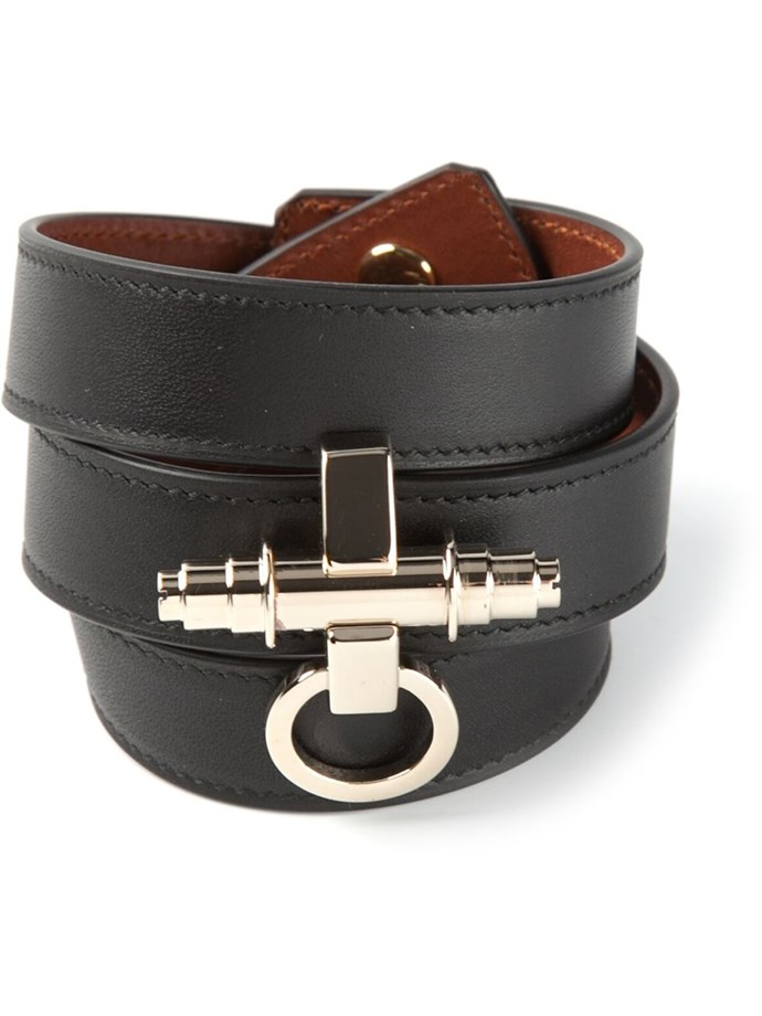"Outfit four: <br/> <a href=""http://www.farfetch.com/au/shopping/women/givenchy-obsedia-bracelet-item-10769703.aspx?storeid=9475&ffref=lp_1_15_ "">Bracelet</a>, $1533, Givenchy, farfetch.com"