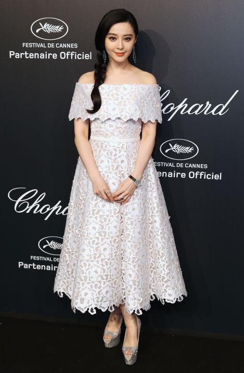 <strong>FAN BINGBING</strong> <BR> In Ralph & Russo Couture with Chopard jewellery