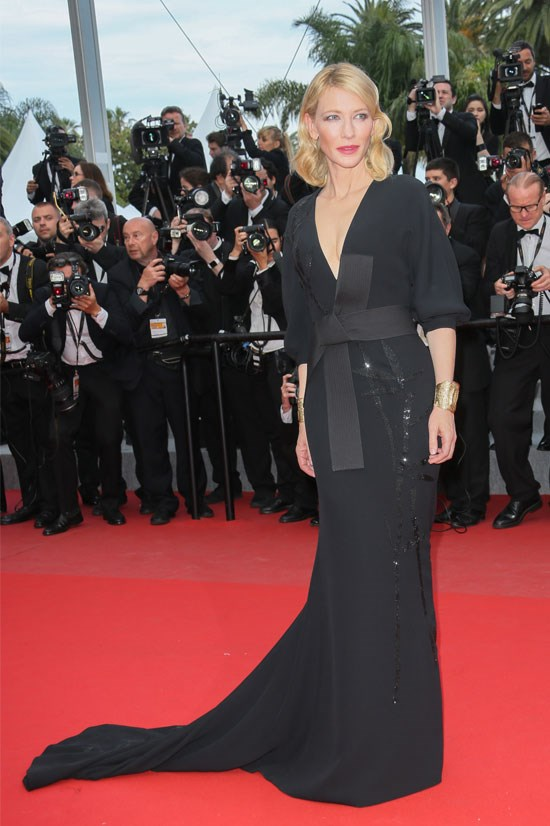 <strong>Cate Blanchett</strong> wearing Armani Privé