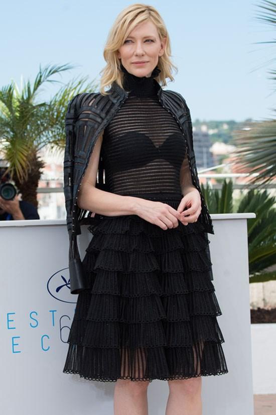 <strong>Cate Blanchett</strong> wearing Alexander McQueen