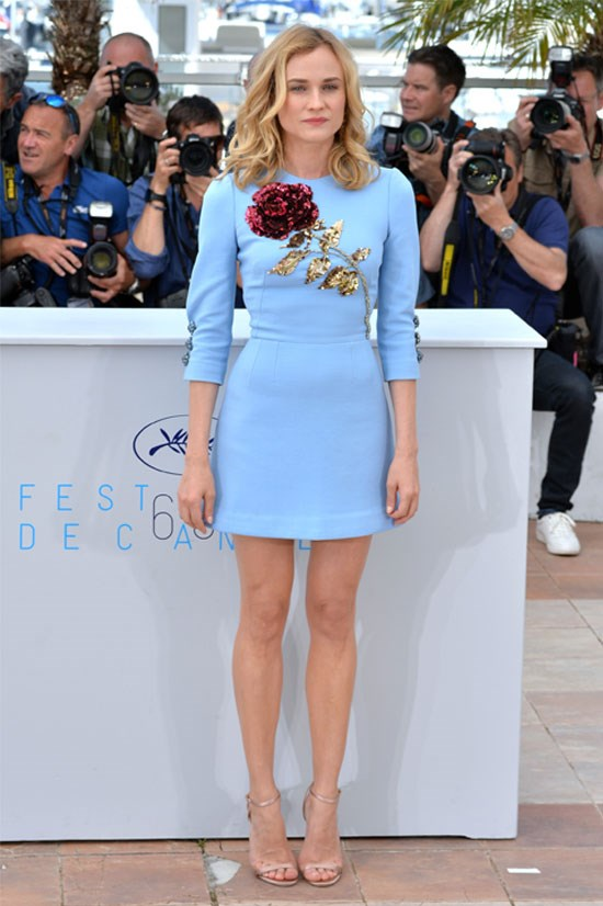 <strong>Diane Kruger</strong> wearing Dolce & Gabbana