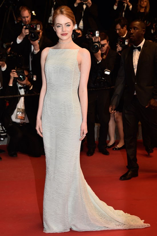 <strong>Emma Stone</strong> wearing Christian Dior Couture