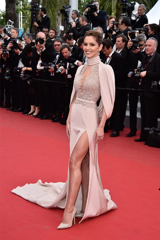 <strong>Cheryl Fernandez-Versini</strong> wearing Ralph & Russo Couture